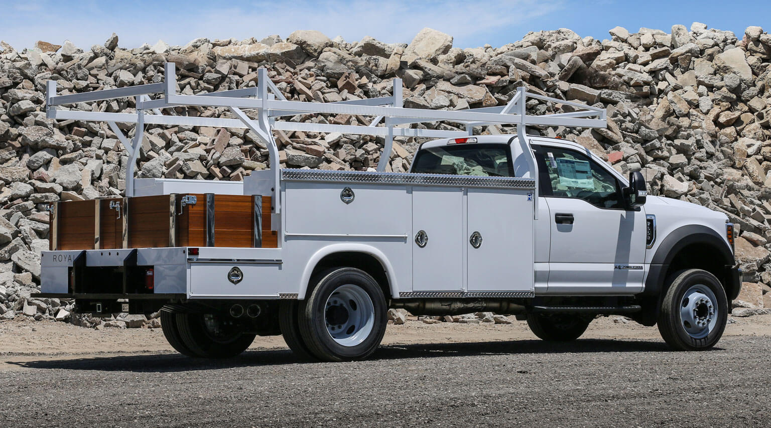 10 foot combo DRW body by Royal Truck Body