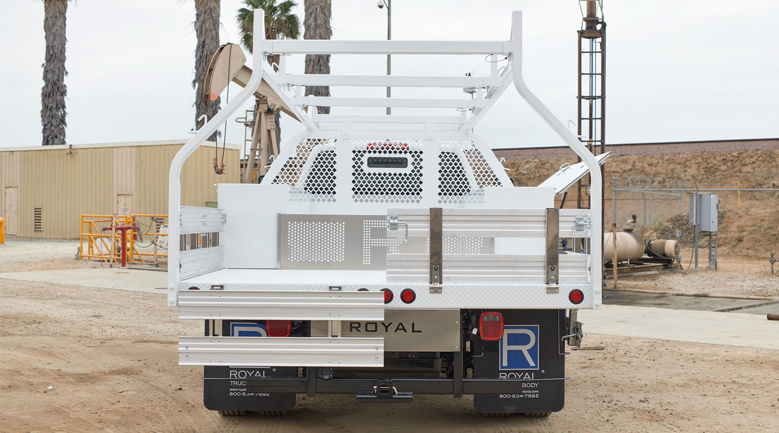 12 foot severe duty number 2 contractor body by Royal Truck Body