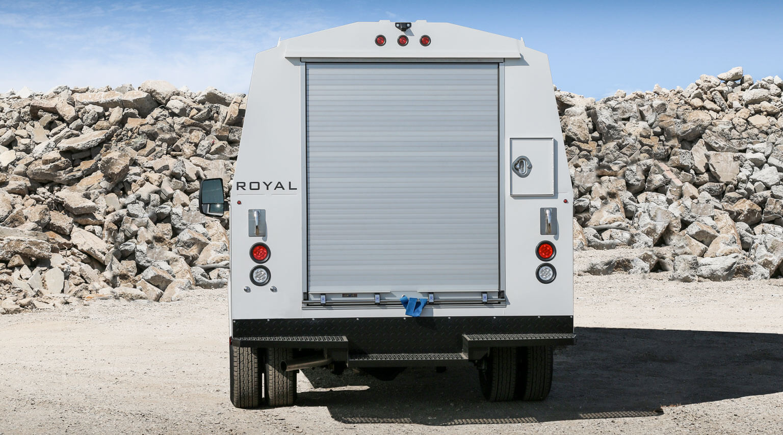 RSV 11 foot 75 inch tall DRW cab chassis mount by Royal Truck Body