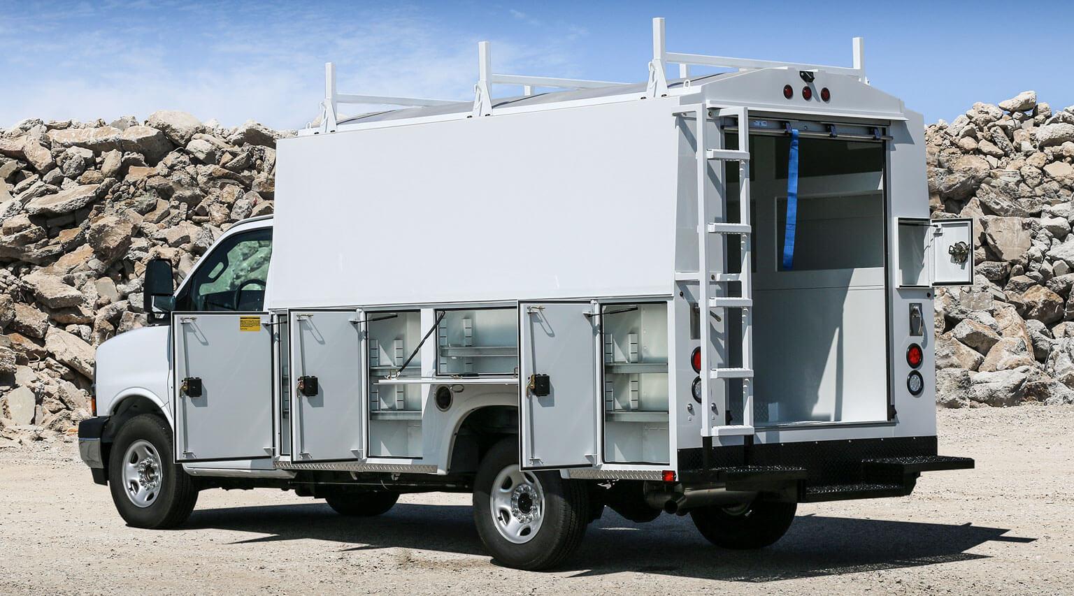 RSV 11 foot 75 inch SRW cutaway mount by Royal Truck Body