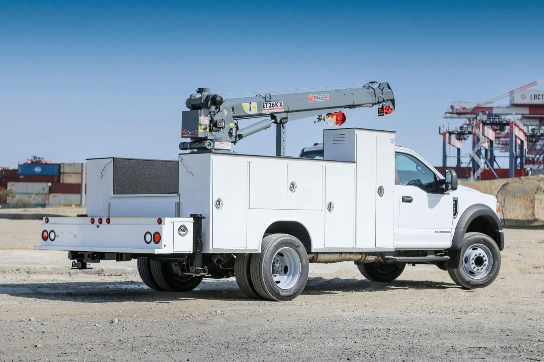 "royal truck body crane - 11ft 46"" model"
